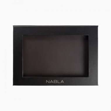 Liberty six palette personalizzabile black - nabla cosmetics