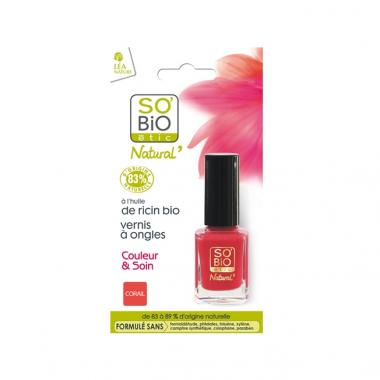 "SMALTO 04 ""VIBRANT CORAIL""  - So'Bio étic"