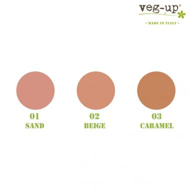 Compact Foundation Caramel 03 - Veg Up